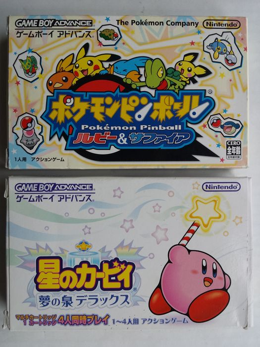 kirby games for gba