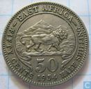 East Africa 50 cents 1954