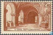Postage Stamps - France [FRA] - Basilica of St Denis