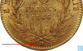 Coins - France - France 10 francs 1866 (BB)