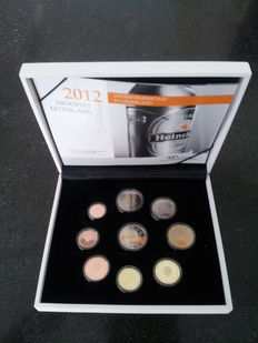 The Netherlands – year set with euro coins, 2012
