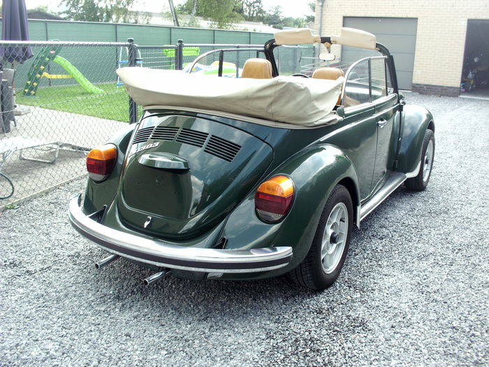 coccinelle cabriolet 1974