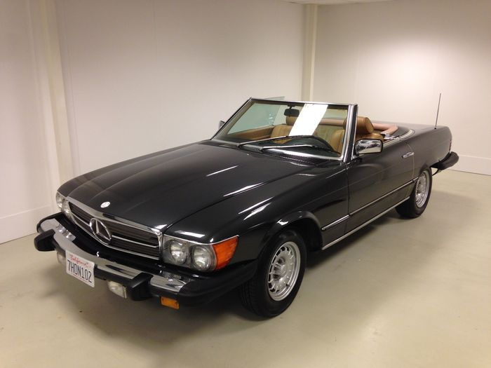 Mercedes SL 380 Roadster - 1985
