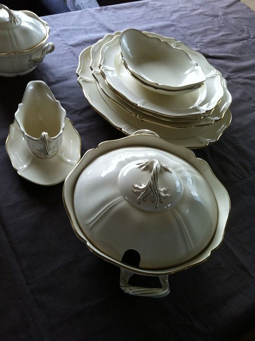 Wedgwood - Queens plain-servies 50 delig