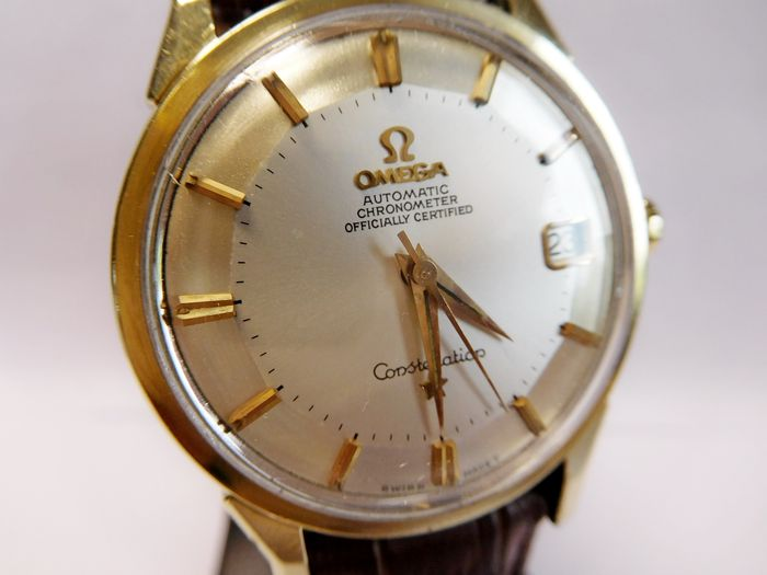 Omega Constellation Pie Pan Chronometer - Men's Watch - 1960s