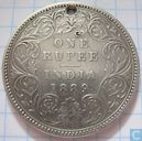 British India 1 rupee 1889 (sunken B)