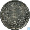 France 5 francs 1849 (BB - Hercules)