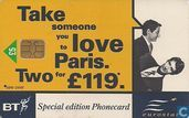 Eurostar, Take someone you love to Paris
