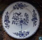 Assiette faience AMC Made in Belgium (Mouzin Wamuel).