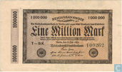 Reichsbanknote, 1 Million Mark 1923