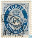 Briefmarken - Norwegen - Posthorn