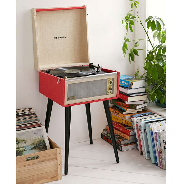 tourne disques vinyl crosley dansette bermuda catawiki. Black Bedroom Furniture Sets. Home Design Ideas