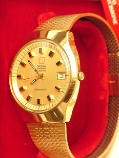 Omega electric f 300 Hz chronometer - Wristwatch - ca 1970s
