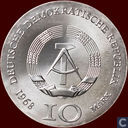 "DDR 10 Mark 1968 ""500th Anniversary of the Death of Johann Gutenberg"""