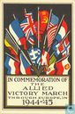 In commemoration of the allied victory march through Europe, in 1944-'45