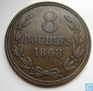 Guernsey 8 doubles 1868