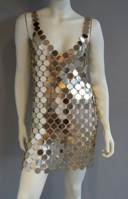 Design It Yourself Clothes   Paco Rabanne Do It Yourself Disc Dress Catawiki