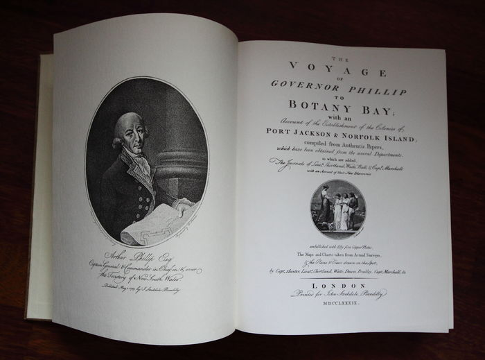 Travel; Governor Philip - The voyage of Governor Philip to Botany Bay (facsimile) - 1968