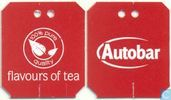 Tea bags and Tea labels - Autobar - aardbeien