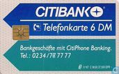 Phone cards - Deutsche Telekom - Citibank 2 - Frau am Telefon 1