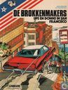 Strips - Brokkenmakers, De [Denayer] - Ups en downs in San Francisco