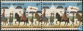 Postage Stamps - Belgium [BEL] - Procession of the Holy Blood