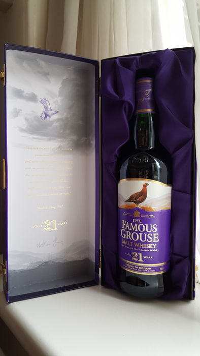 The Famous Grouse 21 Year Old Malt Whisky