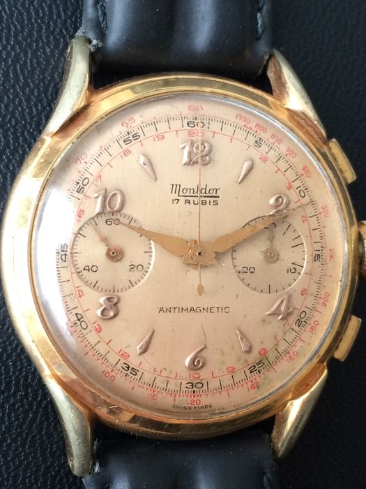 MONTDOR Chronograph - wrist watch - approx years 50