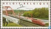 Postage Stamps - Belgium [BEL] - Thalys high Speed Train Type PBKA