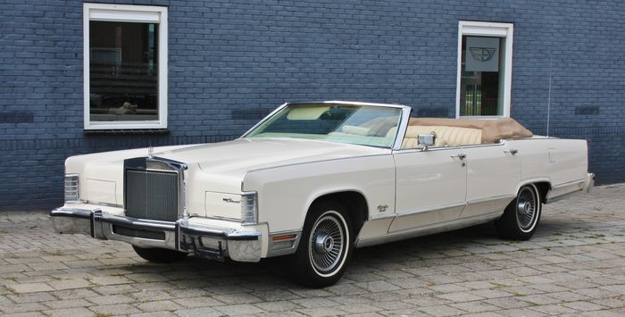 Lincoln Continental Town Car Collectors Series Cabrio 1979 Catawiki