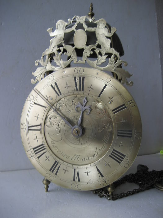 French lantern-clock - 1800s period