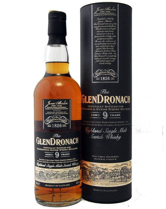 glendronach 9 years old darth vader for danish whisky. Black Bedroom Furniture Sets. Home Design Ideas