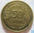 France 50 centimes 1941 (aluminium-bronze)