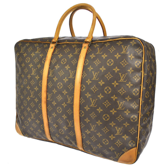 louis vuitton sirius 50 vintage reis weekend tas. Black Bedroom Furniture Sets. Home Design Ideas