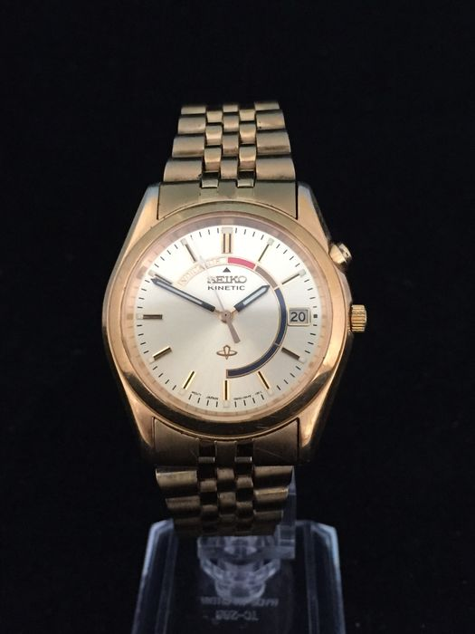 Seiko Kinetic 5M42-0A30 - wristwatch  - July 1999