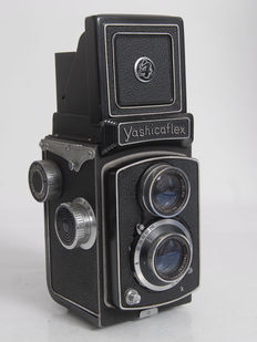 Yashicaflex from the late 1950s