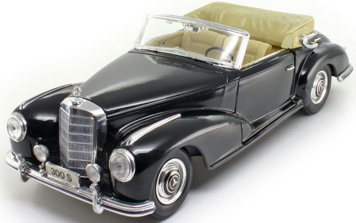 Maisto - Scale 1/18 - Mercedes-Benz 300S, 1955
