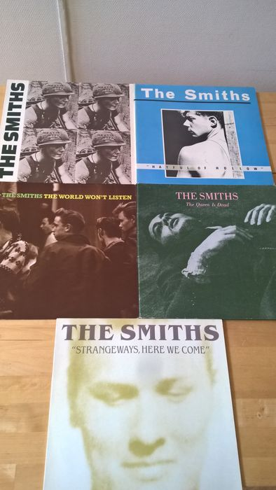 Lot - 5 albums of The Smiths - Catawiki
