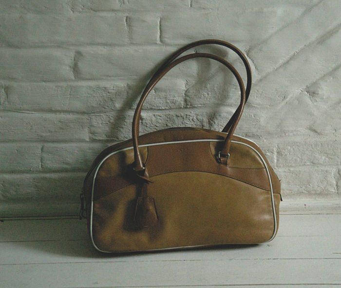 Vintage leather PRADA