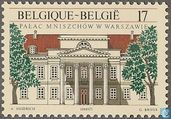 Postage Stamps - Belgium [BEL] - Mniszech Palace in Warsaw