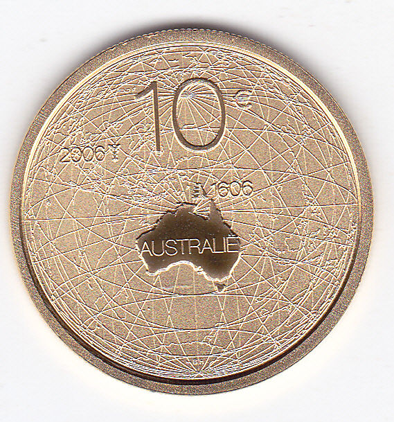 "The Netherlands – 10 euro 2006 ""Australia"" – gold"
