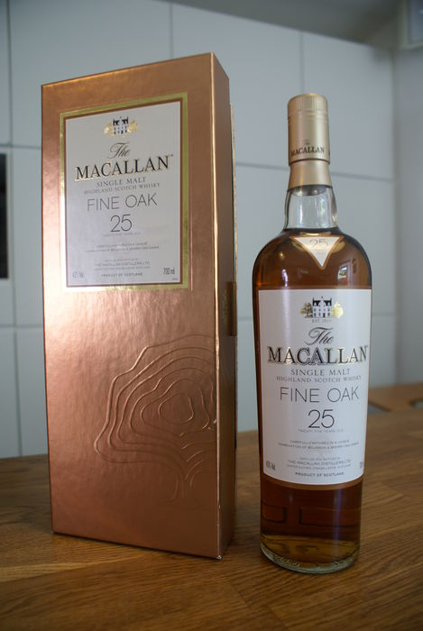The MACALLAN 25 year Fine Oak