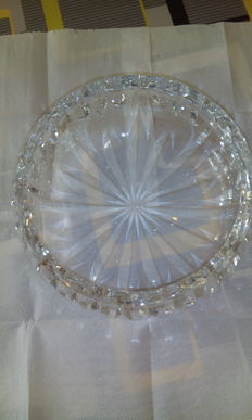 Large bowl in St. Louis Crystal  France, 20th century