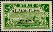 Postage Stamp with overprint