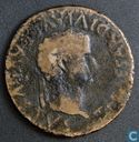 Roman Empire, AE As, 14-37 AD, Tiberius, Bolscan, Hispania