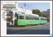 Trams in Basle