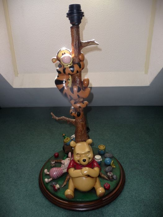 Disney   Winnie The Pooh U0026 Friends   Large Lamp Made From Resin