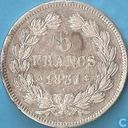 France 5 francs 1831 (Relief text - Laureate head - A)