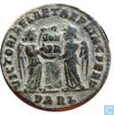 Roman Empire  AE3 Kleinfollis of Emperor Constantine the Great DARL  319-320