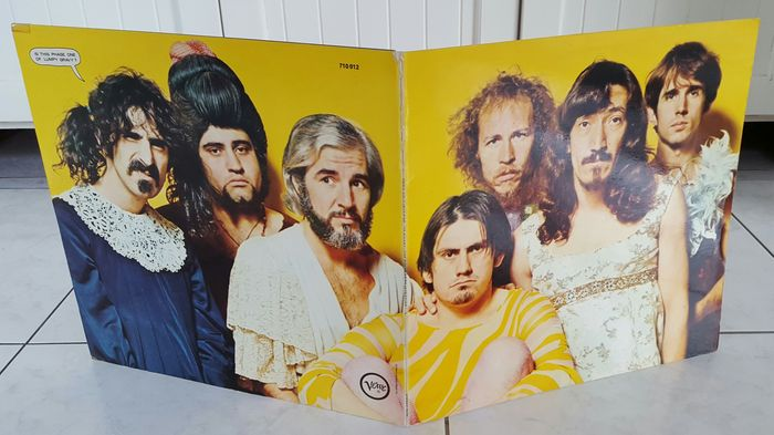 Mothers Of Invention - LP We're Only in It For The Money (Verve 710012) Original 1968 German gatefold first pressing plus insert
